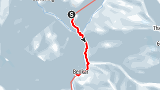 Map / Namche Bazar - Benkar
