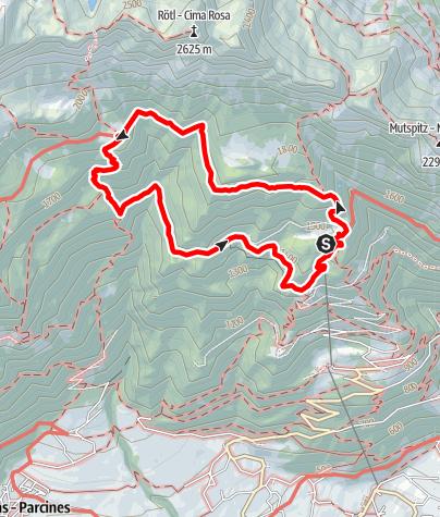 Karte / 2016-09 Leiteralm-Hochganghaus-Leiteralm
