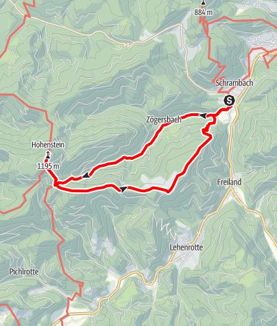 Mappa / Hohenstein