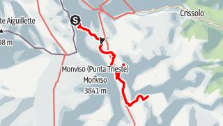 Karte / GTA-Etappe: Rifugio Giacoletti - Rifugio Alpetto (2016)