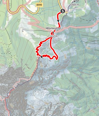 Karte / BGL Purtscheller Haus