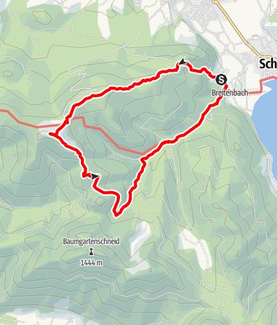 Map / Panoramatour Huberspitz Grindel-Alm Kreuzberg Hennerer