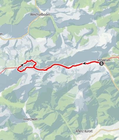 Karte / 19/20.7.2008 Hochschwab (2277m)