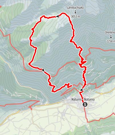 Karte / Kirchbachspitze 10