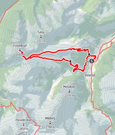 Karte / Brand - Fundelkopf