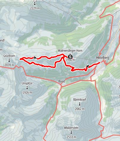 Mappa / 2016-10-28 Walmendinger Horn