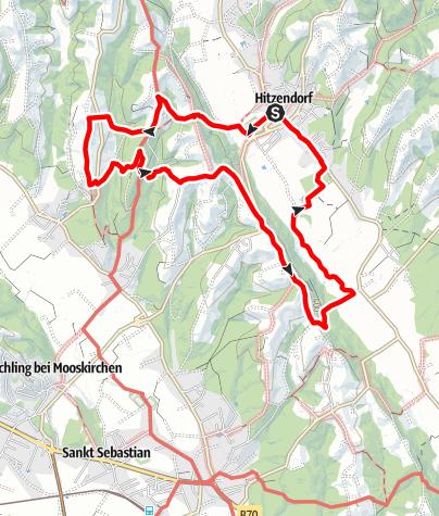Karte / Hitzendorfer Schlösserweg Nr.1