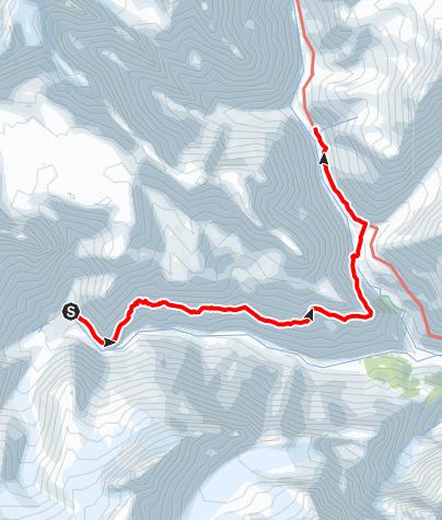 Map / Annapurna circuit - Tilicho Base Camp - Old Khangsar - Yak Kharka