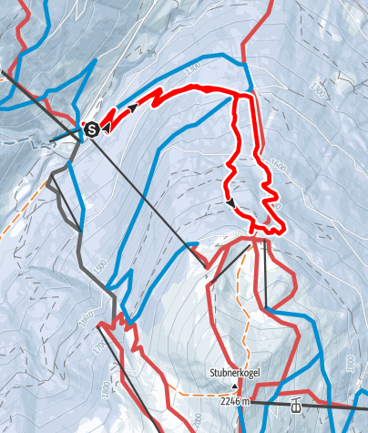 Karte / Stubneralm