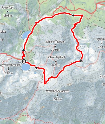 Karte / Coburger Runde Stufe 1