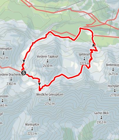 Karte / Coburger Runde Stufe 2