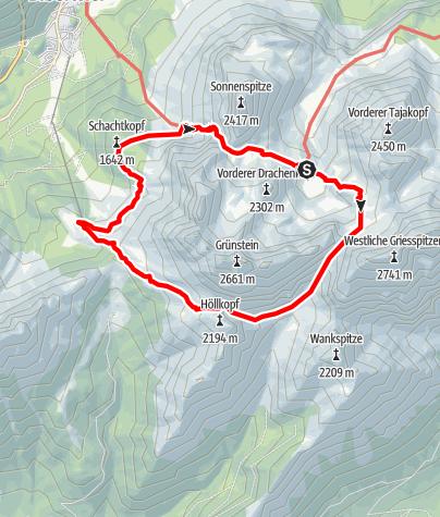 Karte / Coburger Runde Stufe 3