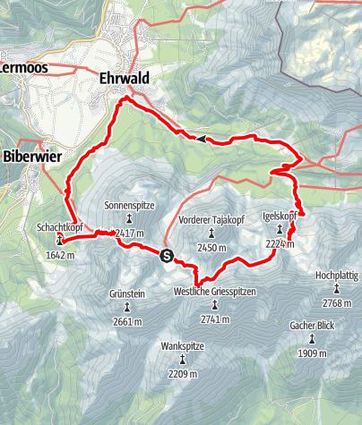 Karte / Coburger Runde Stufe 4