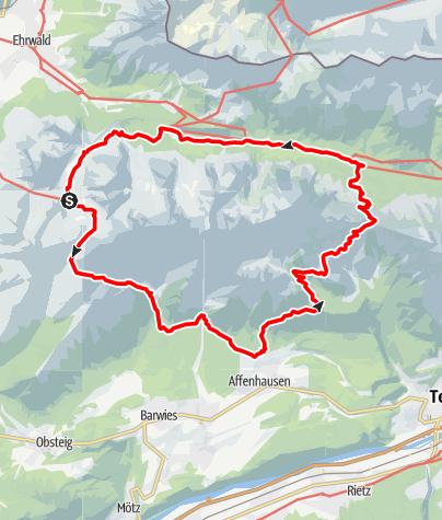 Karte / Coburger Runde Stufe 6