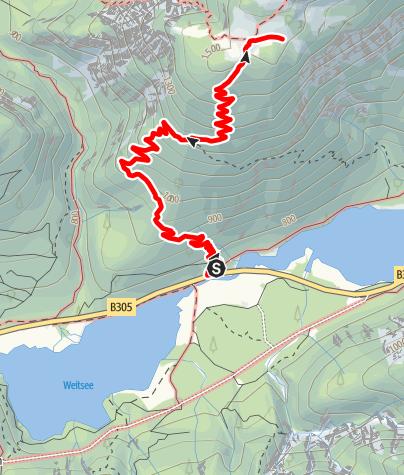 Karte / Hochkienberg Ruhpolding / Reit im Winkel