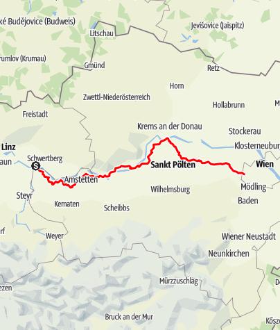 Karte / Jakobsweg