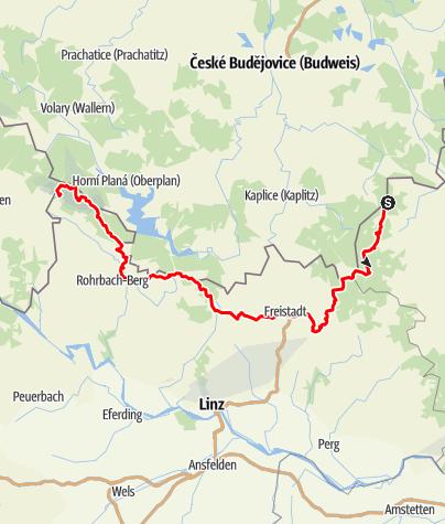 Karte / Nordwaldkammweg