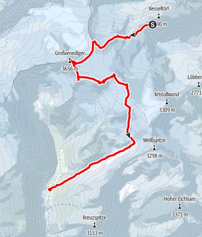 Map / Venediger  3.Tag