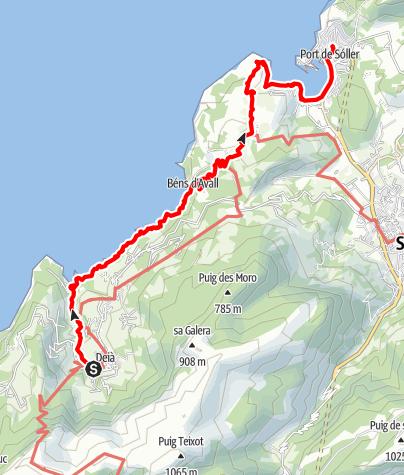 Karte / GR221-5