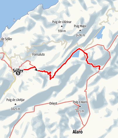 Karte / GR221-6
