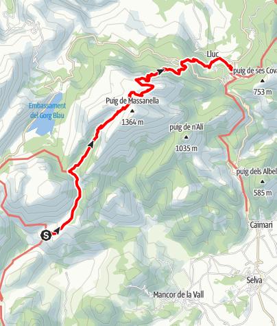 Karte / GR221-7