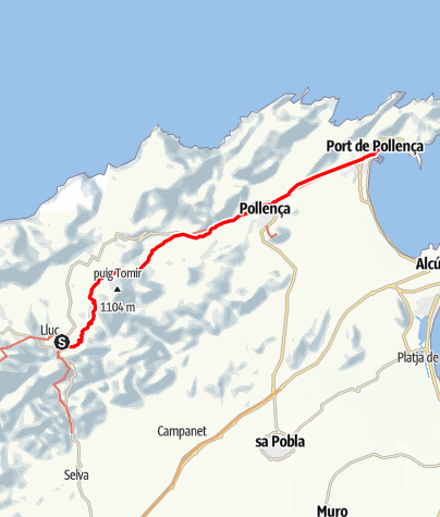 Karte / GR221-8