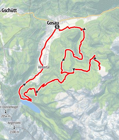 Karte / Plankensteinalmrunde