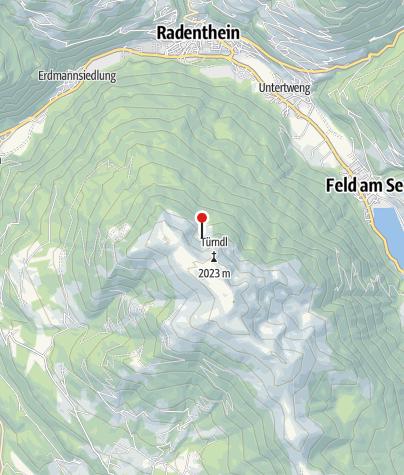 Karte / Hochalm Hütte