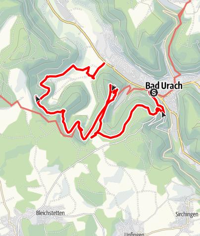 Karte / Best of Bad Urach