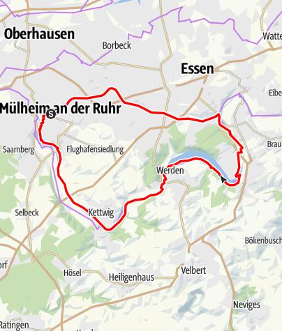 Karte / Wasserbahnhof MH