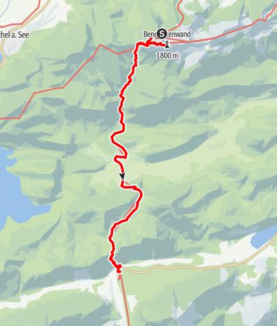 Karte / Alpenüberquerung Bad Tölz - Bozen Etappe 2