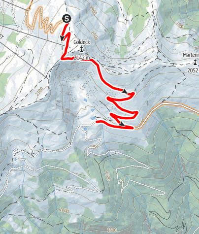 Karte / Mountainbikestrecke