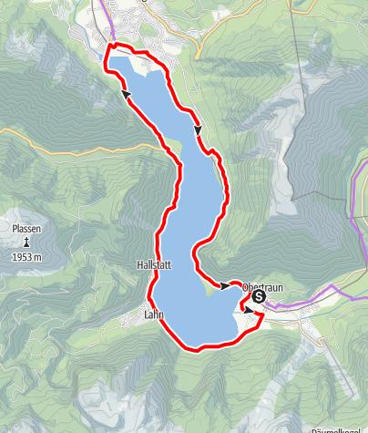 Karte / Hallstatt