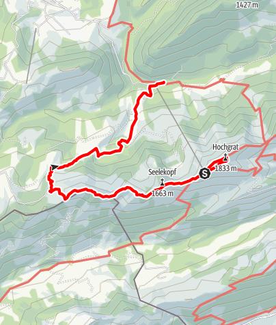 Karte / Hochgrat Rundtour