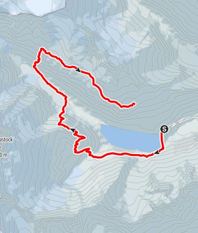 Karte / Göscheneralp(en) Tag 1
