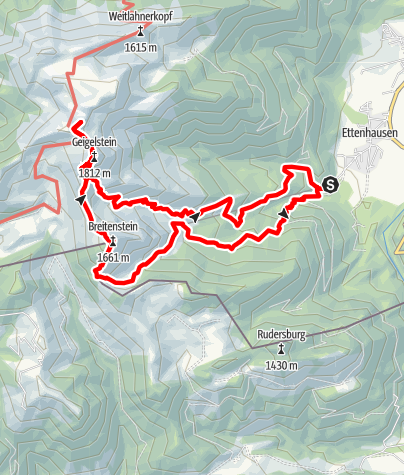 Karte / Geiglstein