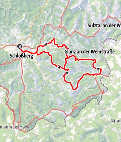 Karte / Glanzer Hoftour