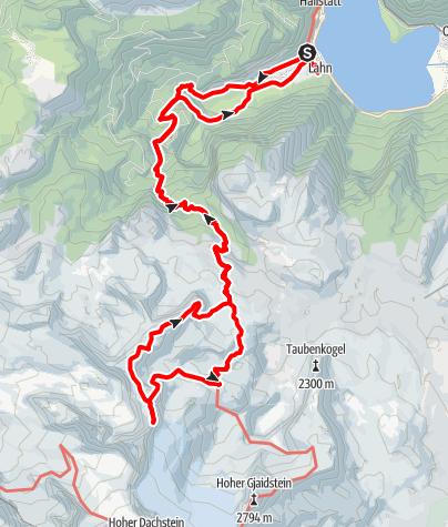 Karte / Wildkar Klettersteig