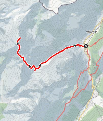 Map / Le Mont Buet