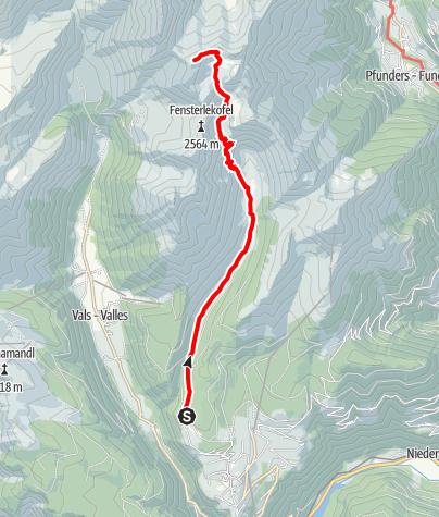 Karte / Seefeldspitz