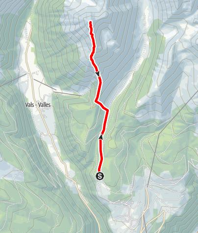 Karte / Gaisjoch