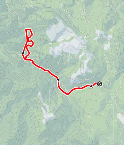 Karte / Triftsteig Unterlaussa/Mooshöhe