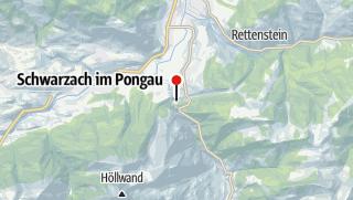 Karte / Obersteiner - Liechtensteinklamm