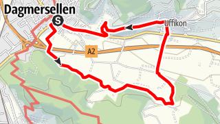 Map / PW Dagmersellen LU, 10 km Strecke