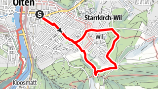 Map / PW Olten SO, 6 km Strecke