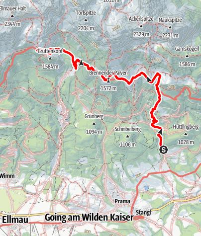 Map / Kaiserkrone - stage 1