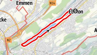 Map / PW Ebikon LU, 10 km