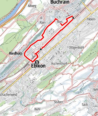 Map / PW Ebikon 5 km