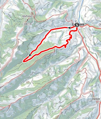 Map / PW Luthern LU, 5 km