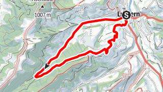 Map / PW Luthern LU, 6 km